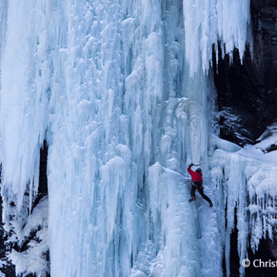 Skyward Mountaineering Ice Climbing Norway